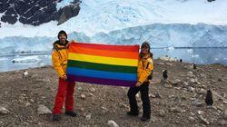 남극이 첫 'LGBT 우호 대륙'으로