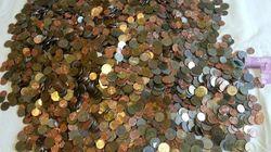 밀린 임금을 10원과 100원짜리 동전으로 준 식당