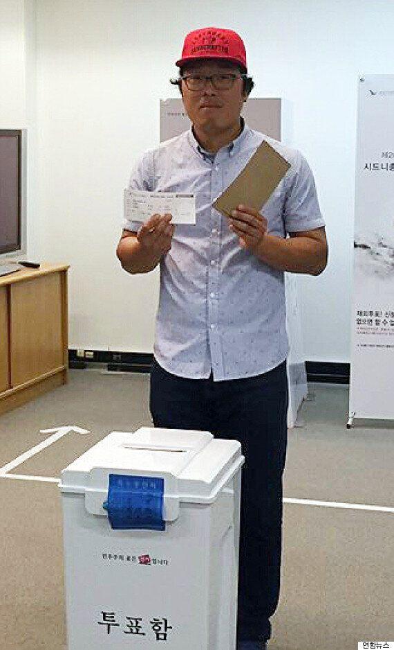 호주에 사는 이 한국 청년은 4천km 비행기를 타고 날아가 한 표를