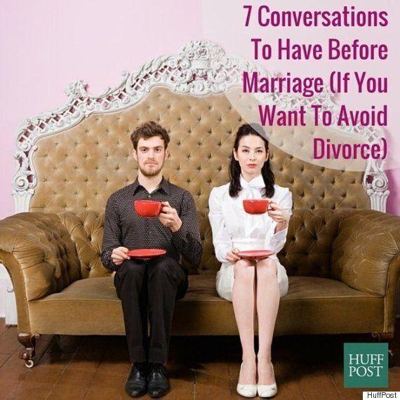 이혼하고 싶지 않다면 결혼 전에 나눠야 할 대화