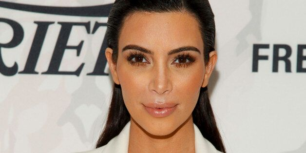 Kim Kardashian attends Variety's Power of Women Luncheon at Cipriani Midtown on Friday, April 24, 2015,...