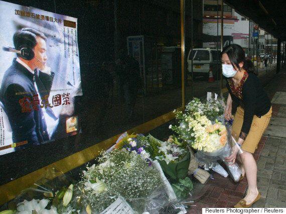 13년 전, 4월의 홍콩은 장국영의 죽음을 슬퍼했다(사진