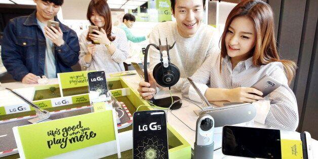 LG전자의 G5가 흥행 조짐을