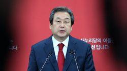 김무성 새누리당 대표, '옥새투쟁'