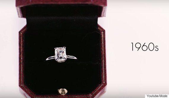 약혼반지 디자인의 변천사