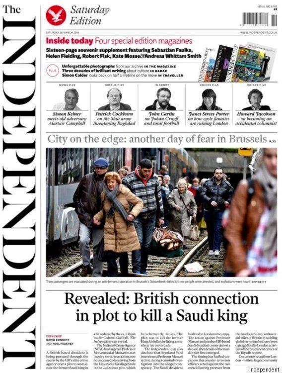 이것이 영국 인디펜던트가 발행한 '마지막