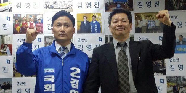 수도권에서 더민주-국민의당 첫 '야권연대'