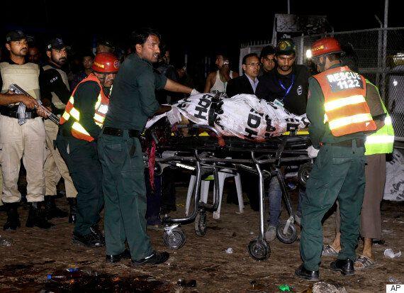 파키스탄 어린이공원에서 자살폭탄 테러가