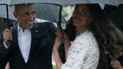오바마 딸 '말리아'의 소박함을 보여주는 한 장의