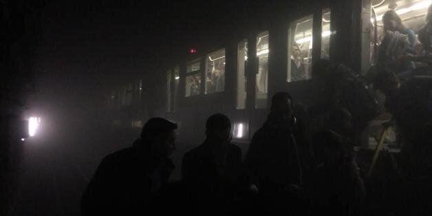 브뤼셀 지하철역이 공격당할 때 나는 거기