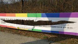 '성 소수자 현수막 훼손'에 대한 서울대 총학생회장의 한