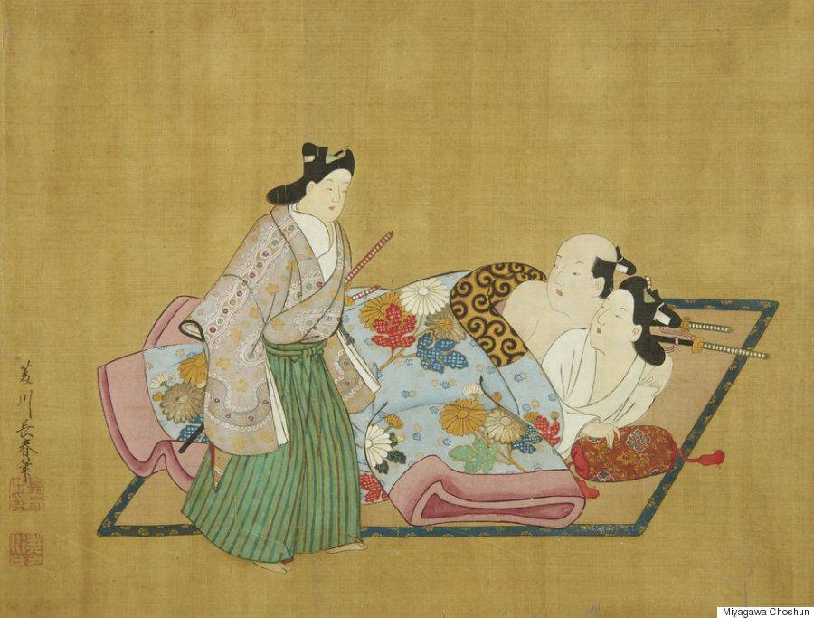 17세기 일본의 게이 춘화는 희귀한 만큼 정말