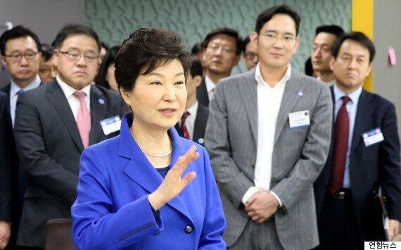 '진박' 고전하는 대구에 박근혜 대통령이