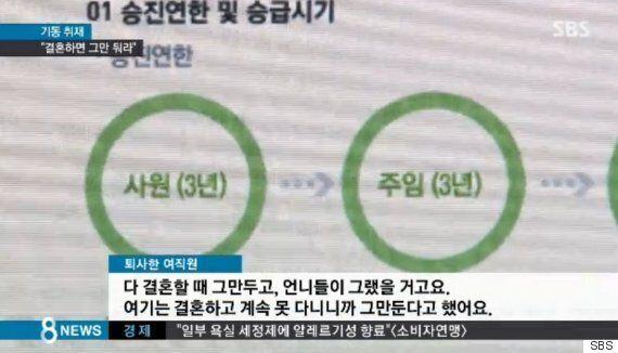 '결혼 이유로 퇴사' 강요한 금복주, 사과문을