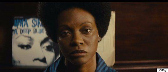 흑인들이 조 샐다나가 주연한 '니나 시몬' 전기 영화 예고편을 보고 분노하는