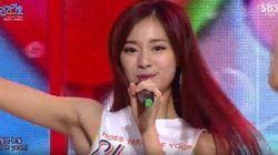 트와이스 의상 문구 논란에 JYP