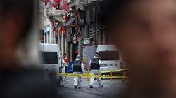 터키 이스탄불에서 자살폭탄