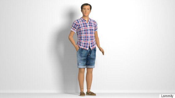 보통 몸매를 가진 '켄' 인형이 드디어