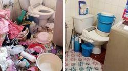 집안 쓰레기 더미서 살던 4자매, 자원봉사자가