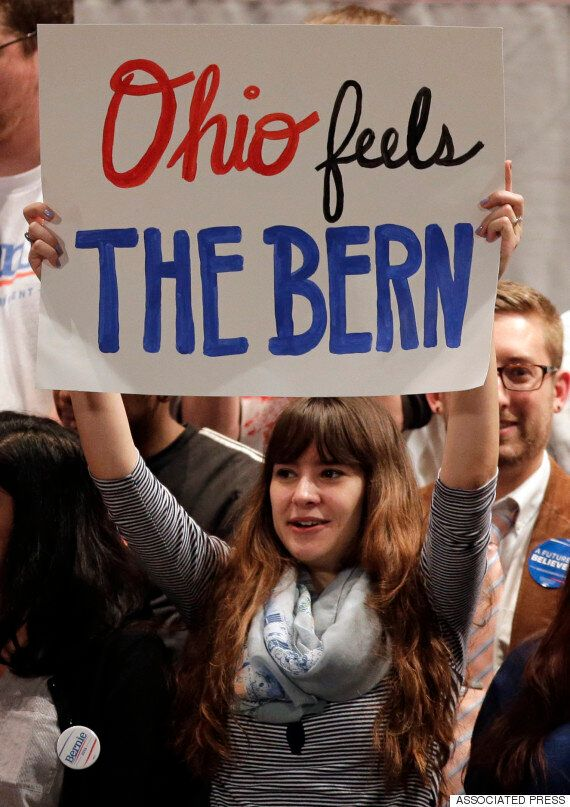 '미니 슈퍼화요일' : 버니 샌더스, 무서운 기세로 힐러리 클린턴을