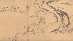 '지브리'가 12세기의 만화로 만든 단편