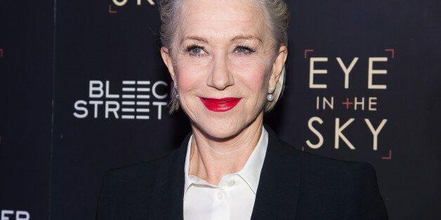 Helen Mirren attends the premiere