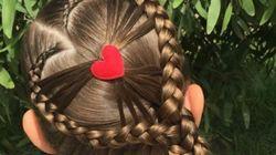 신의 경지에 오른 이 엄마의 머리 땋는 기술(사진