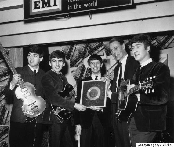 비틀즈의 '5번째 멤버', 프로듀서 조지 마틴