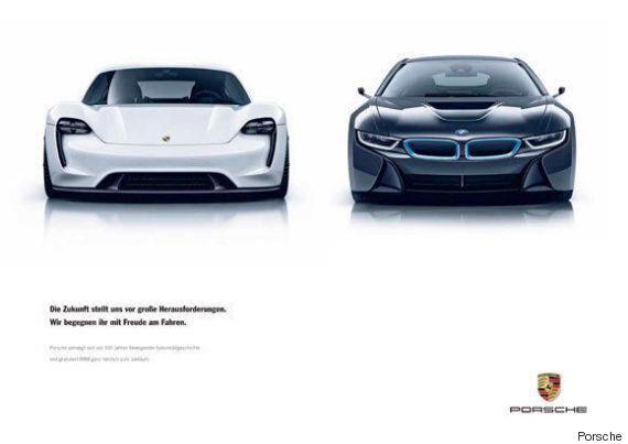 BMW 100주년을 축하하는 메르세데스 벤츠의