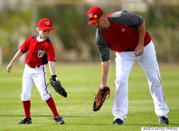 아들과 함께 보내는 시간을 위해 152억원을 포기한 야구선수