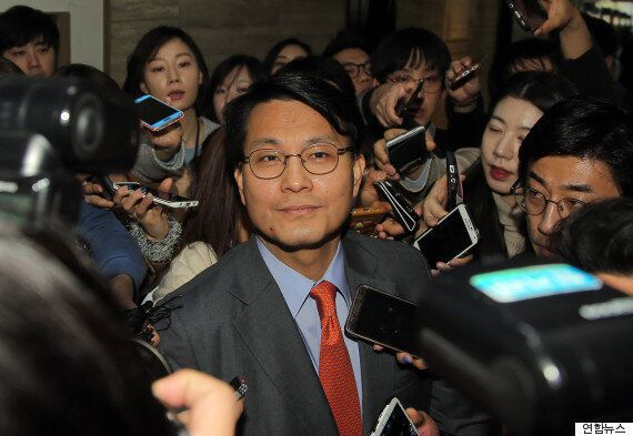 김무성, 윤상현의 사과를