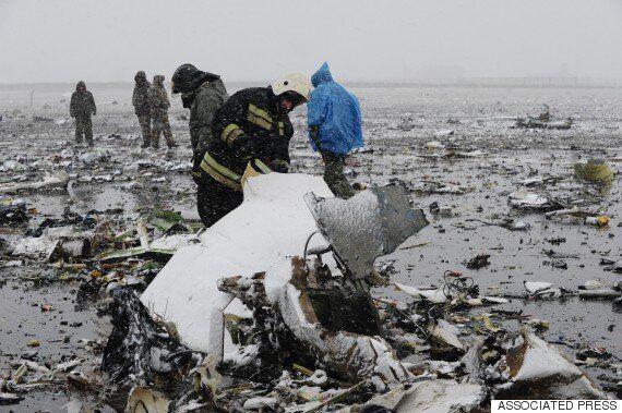 러시아-두바이항공사, 62명 사망 여객기 사고 '책임