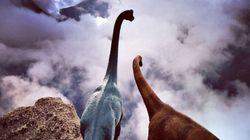 두 마리의 공룡과 함께하는 세계