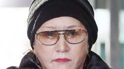 채권자 폭행 린다김, 7시간 조사 '밀치다 뺨