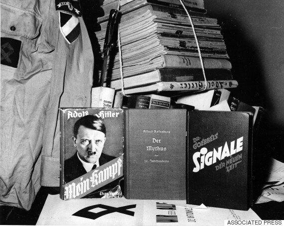 '70년 금서' 히틀러 자서전, 독일서 베스트셀러 대열에