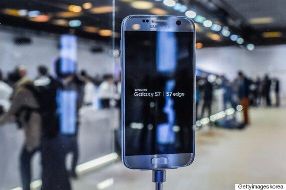 [화보] 삼성전자, 플래그십 스마트폰 새 모델 '갤럭시S7'