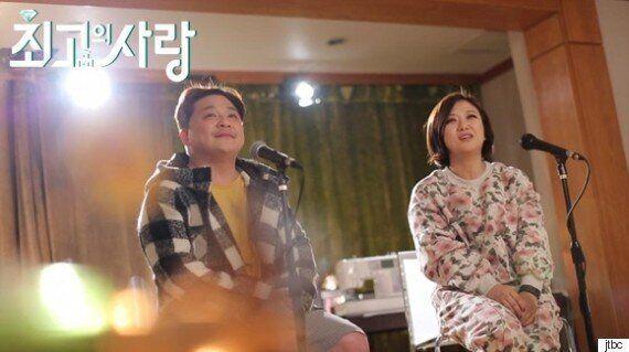 [TV톡톡] '님과함께2' 윤정수♥김숙, 턱 밑까지 찬 시청률