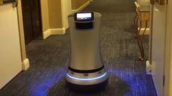 호텔 룸서비스에도 로봇이 이용되고
