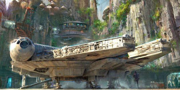 디즈니의 새로운 '스타워즈 랜드' 컨셉 이미지가