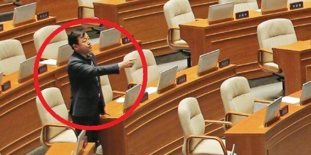 김용남, 은수미 의원 향해