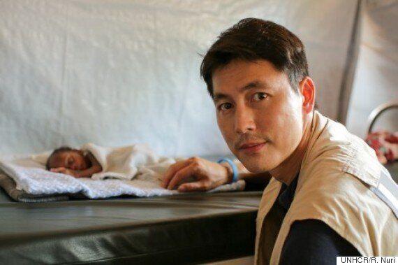 배우 정우성, 시리아 난민들 직접 만나러