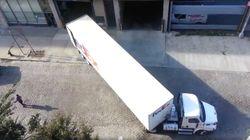 페덱스 화물트럭 운전사의 놀라운