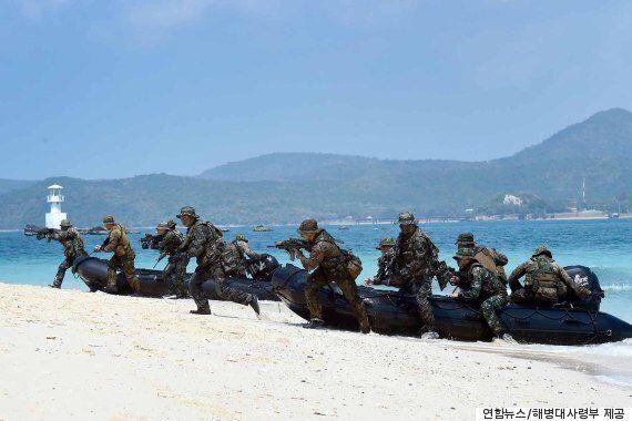 한미 해병대, 북한 진격작전