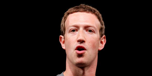 Facebook CEO Mark Zuckerberg speaks during the Samsung Galaxy Unpacked 2016 event on the eve of this...