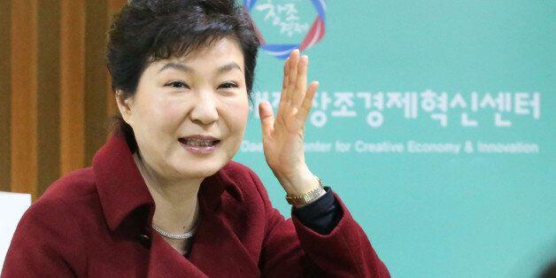 한국일보 여론 조사, 박근혜 대통령 국정운영 지지도