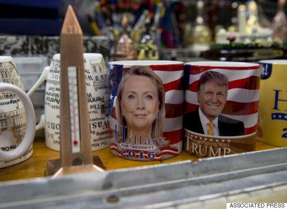 미국 대선 3차 경선에서 트럼프는 압승하고 클런턴은