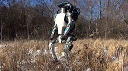 더욱 진화한 이족보행 로봇 '아틀라스'가