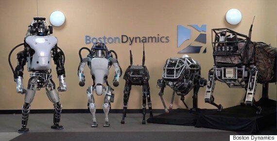 보스턴 다이나믹스가 더욱 진화한 이족보행 로봇 '아틀라스'를