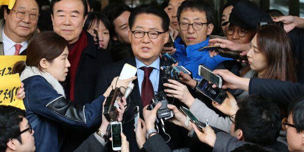 대법, 박지원 의원 '저축은행 금품수수' 무죄