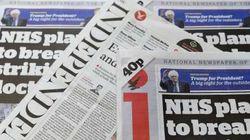 영국 '인디펜던트'지, 종이신문 발행
